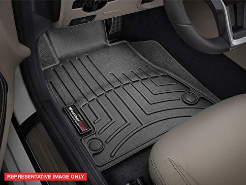 WeatherTech Custom Fit Front FloorLiner for GMC Terrain, Black