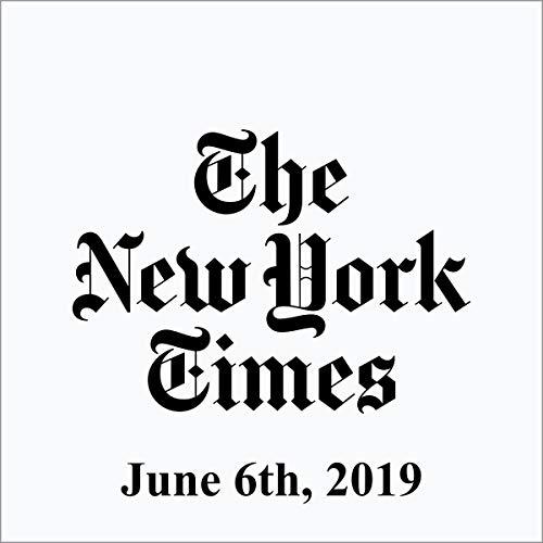 June 6, 2019 audiobook cover art