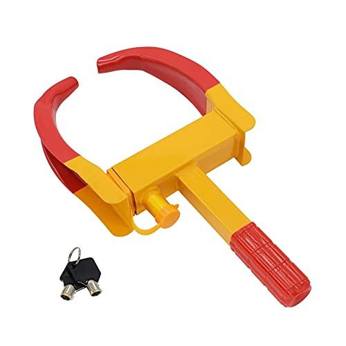 HEJun Cerradura de rueda de automóvil Bota de la abrazadera Neumático Neumático Claw Trailer Truck RV Cartes Trailers Motocicleta Caravana Anti Robo Bloqueo de seguridad Accesorios para automóviles