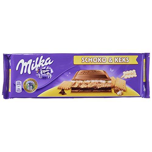 Milka Schoko und Keks, 4er Pack (4 x 300 g)