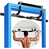 Pull Up Bar for Doorway, Pull Up Bar, Pullup Bar Door Pull Up Bar Doorway Pull Up Bar, Strength Training Pull-Up Bars, Chin Up Bar Doorway No Screws, Multi-Grip Chin Up Bar Trainer for Home Gym