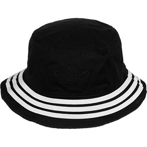 adidas Velvet Bucket Hat, Black/MGH solid Grey, OSFM