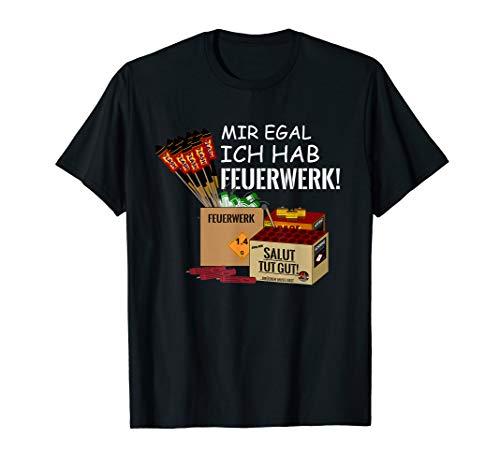 Pyro hat Silvester Feuerwerk Pyrotechnik T-Shirt