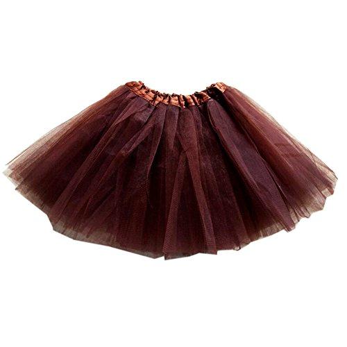 GOGO TEAM Girl 's Tutu Rock Ballett Dance Rock Party Kostüm Fee Rock