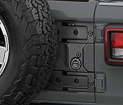 Jeep Wrangler 4-Door Sill Guards Black Plastic Mopar OEM 82210106 82210106.0