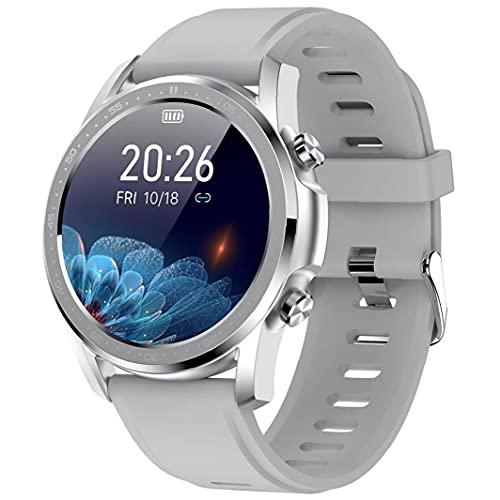 Smart Watch Herzfrequenz-Oxymetrie Uhr-wasserdichte Fitness Tracker-Uhr mit Full Touch Screen Kompatibel mit Xiaomi Grau, Elektronische tragbare Geräte Smartwatch