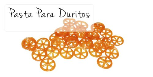 Duritos Wheels Pasta Mexican Traditional Fried Snacks 1 Kg - 2.2 Lb.