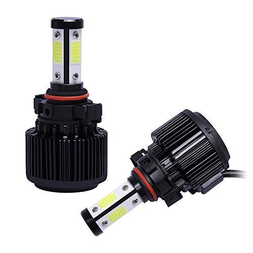 Love-Home Auto-accessoire, X6 vier zijden verlicht auto koplamp LED koplamp