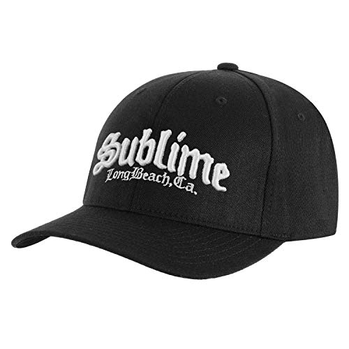 Sublime Men's CA Logo Baseball Cap Adjustable Black