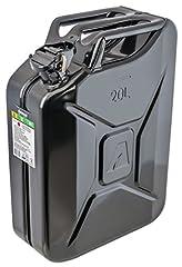 ARNOLD 6011-X1-2002 Metall-Kraftstoffkanister 20L, Schwarz