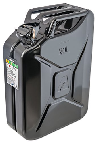 Arnold 6011-X1-2002 - Bidón para combustible (20 L, color negro)
