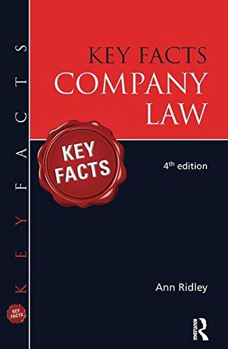 Key Facts Company Law PDF Books