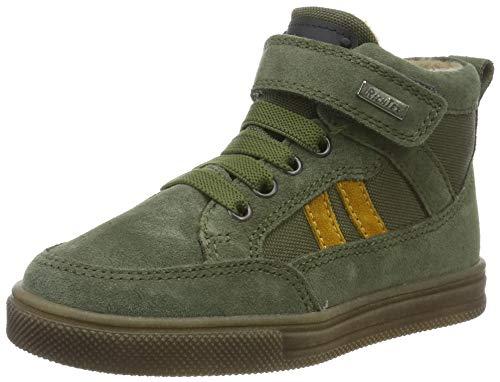 Richter Kinderschuhe Jungen Ola Hohe Sneaker, Grün (Birch/Soleil 8601), 33 EU