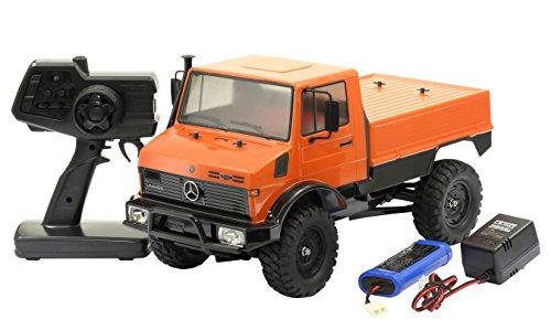 タミヤ 1/10 XBシリーズ No.196 メルセデス・ベンツ ウニモグ 425 (CC-01シャーシ) 2.4GHz プロポ付き塗装済み完成品 57896
