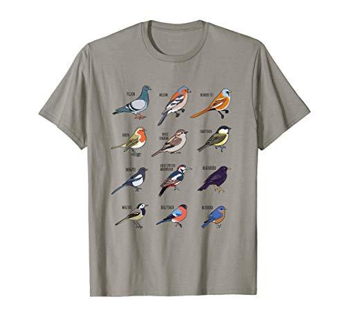 Birds Kollektion - Ich liebe Vögel und die Natur T-Shirt