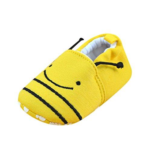 Kaister Neugeborene Krabbelschuhe Mädchen Wanderer Babyschuhe Ebenen weiche Pantoffel Schuhe 0-6 Monate 6-12 Monate 12-18 Monate 18-24 Monate