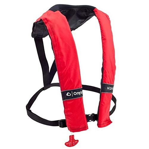Why Should You Buy AMRO-131000-100-004-15 * Onyx 3100 Type V Manual Stole Inflatable PFD - Red