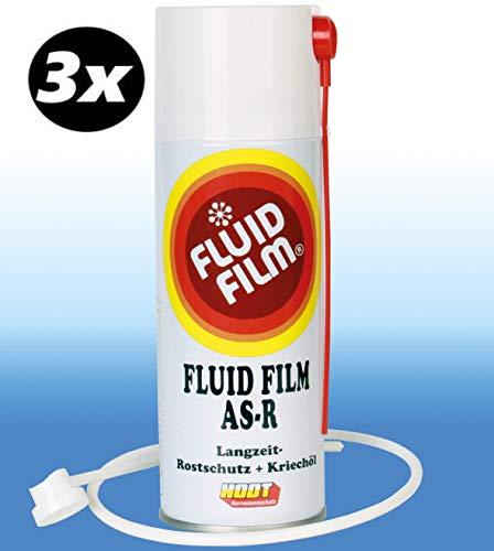 Fluid Film AS-R 3x Sprühdose 400 ml plus Sonde 60cm