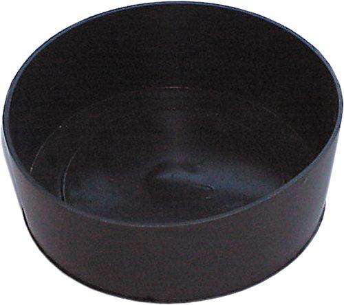 HAROMAC Gipsanrührbecher, schwarz, aus Gummi, Super Flexibel, zylindrisch, Fliesen, Gips