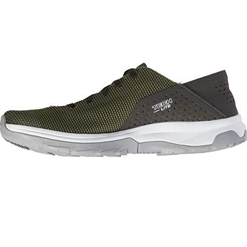 Salomon Herren Tech Lite Walking Shoe Olivgrün (Deep Lichen Green/Peat/Alloy) 46 2/3