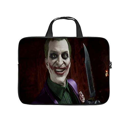 Universal Laptop Computer Tablet,Pouch,Cover for,Apple/MacBook/HP/Acer/Asus/Dell/Lenovo/Samsung,Laptop Sleeve,Joker Supervillain Smile Tooth Clown Vampire Laugh,15inch
