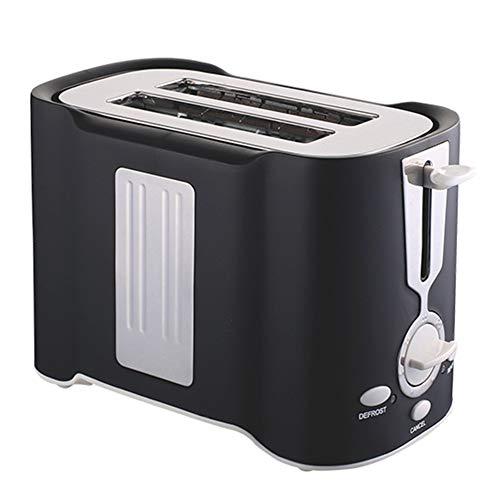Spachy 3-in-1-Breitschlitz-Toaster 2 Scheiben, Brotmaschine, elektrischer Toaster, 850 W, Edelstahl, Drehschalter