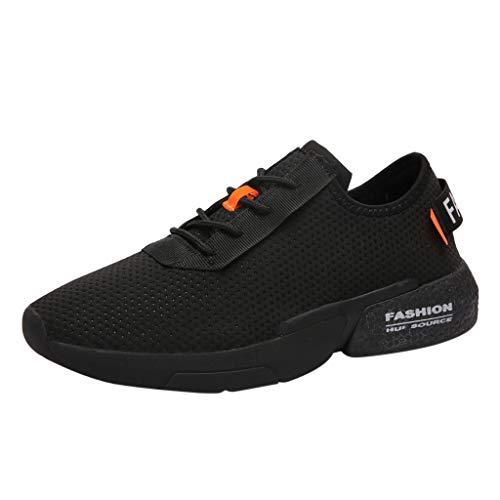 EUZeo Laufschuhe Damen Sportschuhe Turnschuhe Herren Sneakers Running Shoes Air Sport Atmungsaktiv Straßenlaufschuhe
