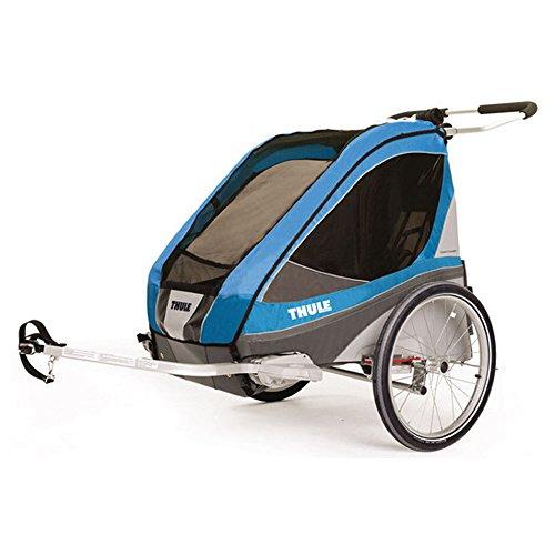 Thule Corsaire 2 inkl. Fahrradset blau