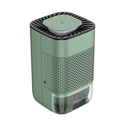 Deumidificatore elettrico, deumidificatore per ambienti, per il bagno, la camera da letto, la cantina, la cucina (verde)