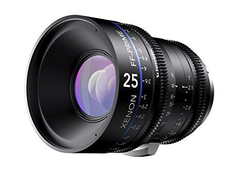 Schneider-Kreuznach 1078144 Cine Objektiv FF-Prime T2.1/25 mm, Canon/ft schwarz