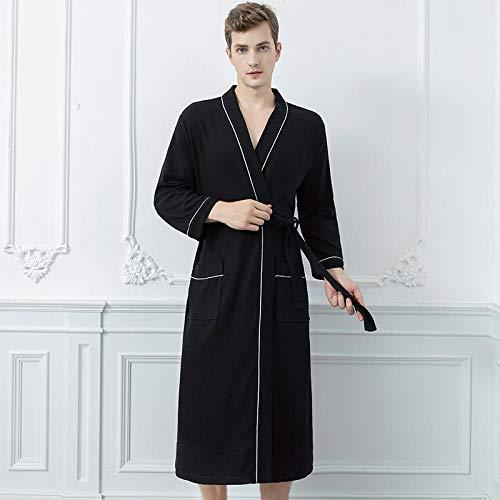 ZHDP Herbst New Solid Couple Robe Gown Casual Nachtwäsche Sweet Lovers Kimono Bademantel Roben Kleid Sexy Langarm Dessous Home Wear