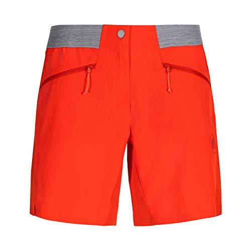 Mammut Damen Shorts Sertig, rot, 36