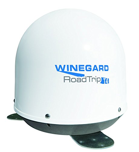 Winegard RT2000T RoadTrip T4 In-Motion RV Satellite Dish (DISH, DIRECTV, BellTV) - Fully Automatic RV Satellite Antenna