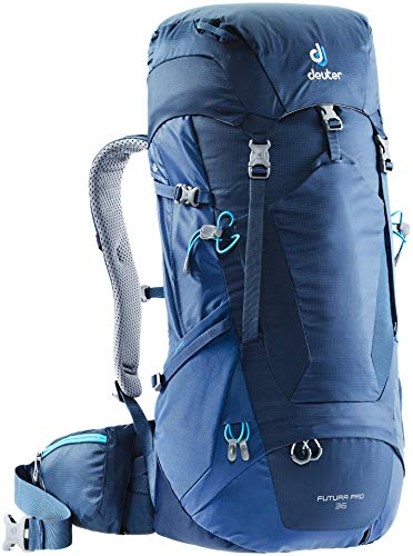 Deuter Futura Pro 36 Mochila Tipo Casual 70 Centimeters 36 Azul (Midnight-Steel)