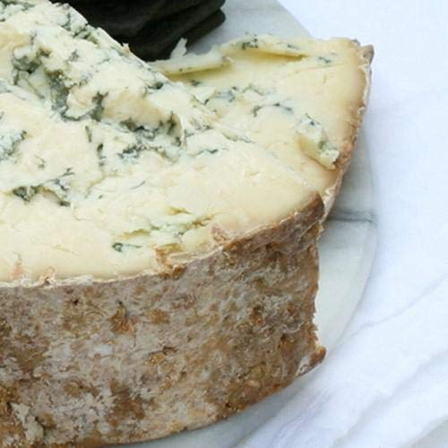 igourmet English Blue Stilton Cheese DOP by Tuxford and Tebbutt - Pound Cut (15.5 ounce)