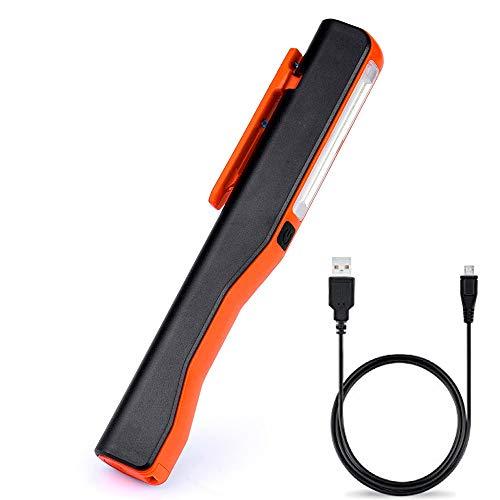 Chine : lampe torche rechargeable LED COB rechargeable magnétique à clip pour le camping, le trekking, veilleuse