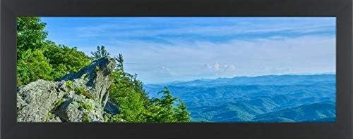 Vintage Travel Grandfather Mountain State Park No Framed Poster or Framed Canvas