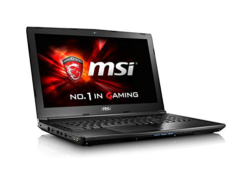 MSI GL62 7QF-1660 15.6' Performance Gaming Laptop Core i7-7700HQ GTX 960M 8GB 1TB