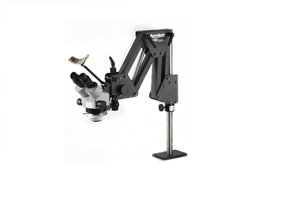 Jewelers Microscope with GRS Acrobat Stand and LED Light