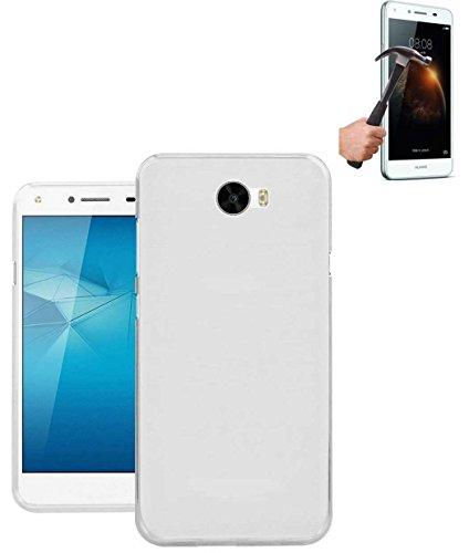 Todobarato24h Funda TPU Lisa Compatible con Huawei Y6 II Compact / Y5...