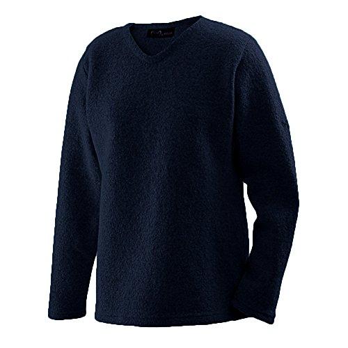 Mufflon Damen Walk-Pullover Sara Schurwolle, Nightblue, Gr. L (44)