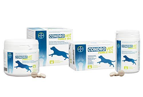 Bioiberica Condrovet Force Ha - Suplemento cuidado de articulaciones para mascotas, 120 Comprimidos