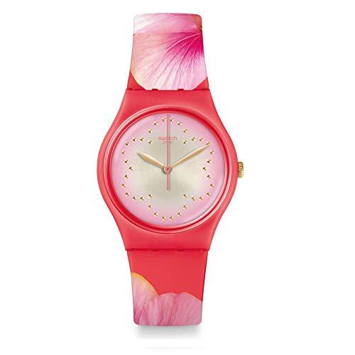 Swatch Reloj Analógico para Unisex Adultos de Cuarzo con Correa en Silicona GZ321