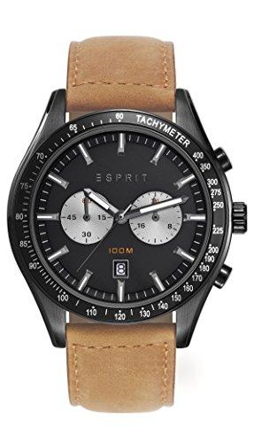 Esprit Herren-Armbanduhr Man ES108241004 Chronograph Quarz