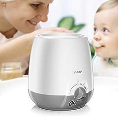 chauffage pour bébés Simply Hot pour flacons et verres, avec fonction de maintien à chaud, blanc/gris