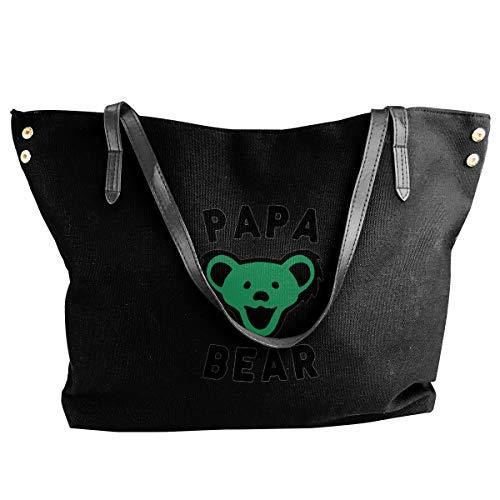 Daddy Bear Best Dad Drawstring Bulk Bags Sacos Cinch Mochila Pull String Bags 12.9x18 Pulgadas