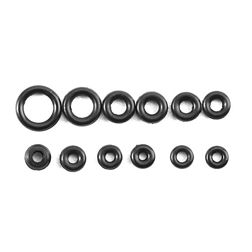Yosoo 1.4-2.8mm 12 Sizes Seal O-Ring Rubber Replacement O-Ring Assortment Watches Gaskets Crown-O-Ring Waterproof Seal