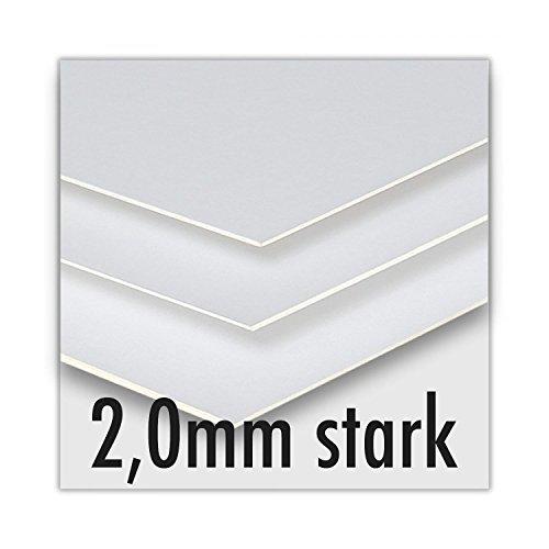 Soobsoo GmbH Siebdruckkarton - 2,0mm stark - 80x120cm