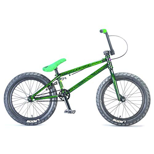 Mafiabikes 18 Zoll BMX Bike MADMAIN Verschiedene Farbvarianten Harry Main (Green Crackle)