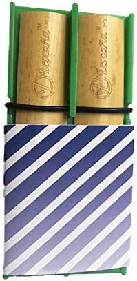 Green Clarinet Slanted Stripes Rockin' Reed by Virginia Max 48% OFF Beach Mall Re Lescana Holder